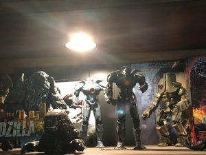 Leatherback, Gipsy Danger, Cherno Alpha and Battle Damage Gipsy Danger