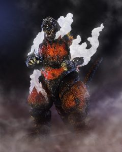 SH MonsterArts Ultimate Burning Ver. Godzilla